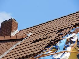 damaged roof