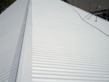 School roof after Cool Roof
