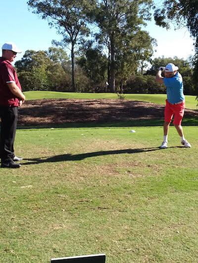 Qld Open fod Blind Golfers