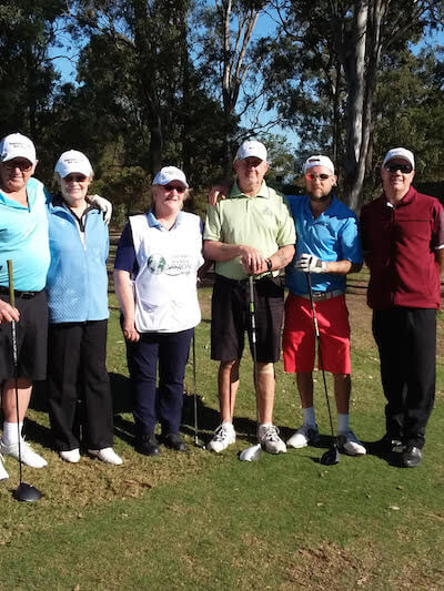 Qld Open For Blind Golfers